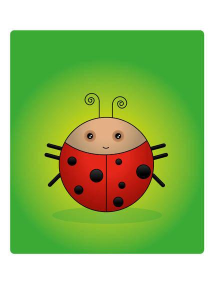 free vector A Ladybug Vector