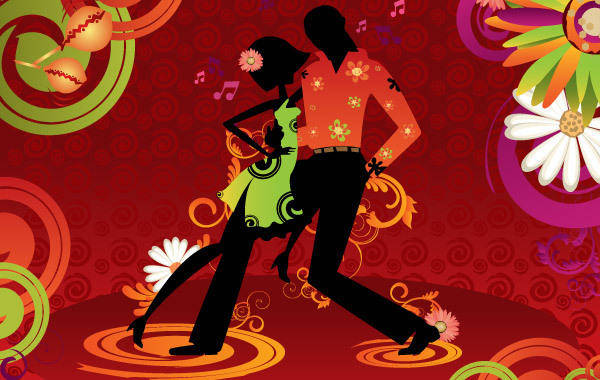 free vector Dance Vector Salsa Dancing