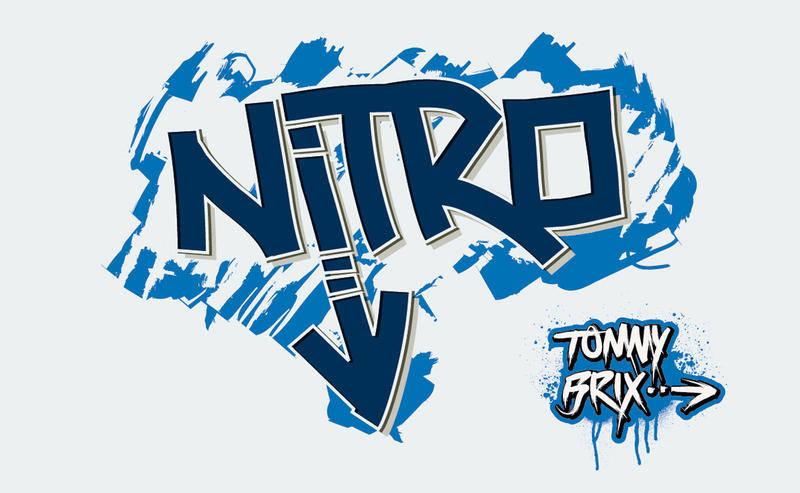 free vector NITRO - design Tommy Brix