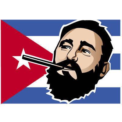 free vector Fidel Castro Vector Illustration