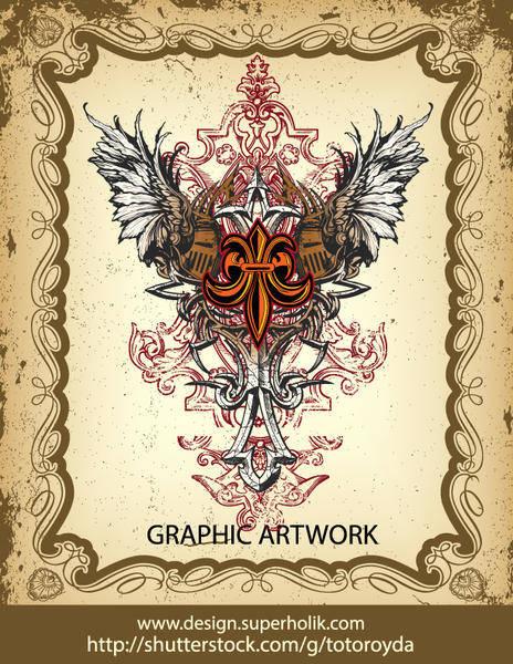 Gothic Heraldry Vector