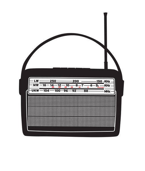 Retro Vector Radio