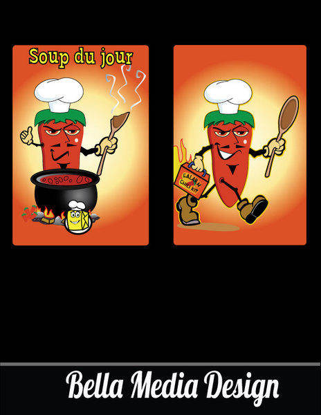 free vector Evil Hot Pepper