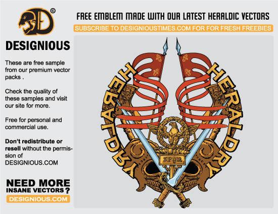 free vector FreeVectorHeraldicEmblems