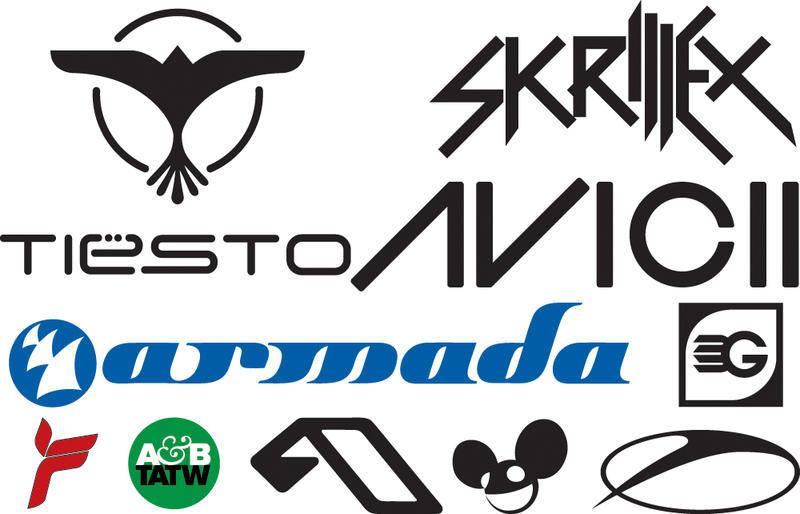 free vector DJ Logos Vectors