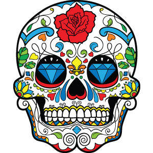 free vector Sugar Skulls, Seamless Patterns, Floral Vector Packs + Freebie