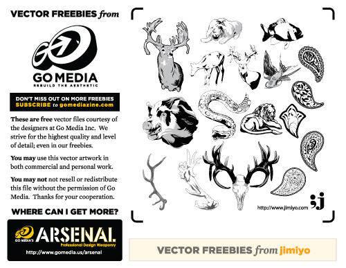 free vector Animal Vectors from Jimiyo