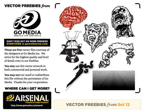 free vector GoMedia Free Set 12
