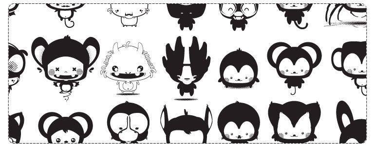 Kawaii Pets Cartoon Vector Pack