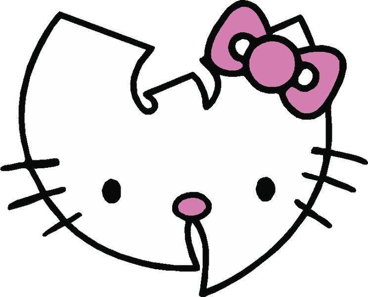 Hello Kitty Wu Tang Vector