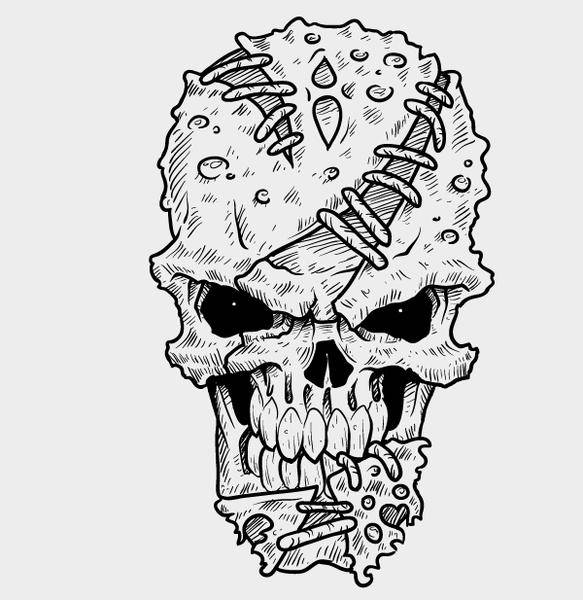 Weekly Freebie #2: Vector Skull from Pixel77 & How Itâ??s Made