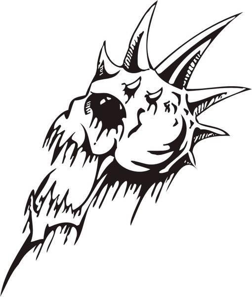 free vector Skull 2