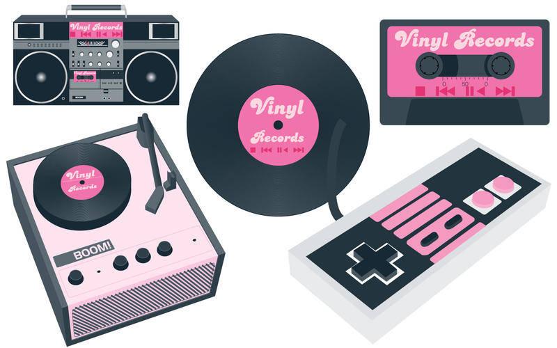 free vector Vintage Music