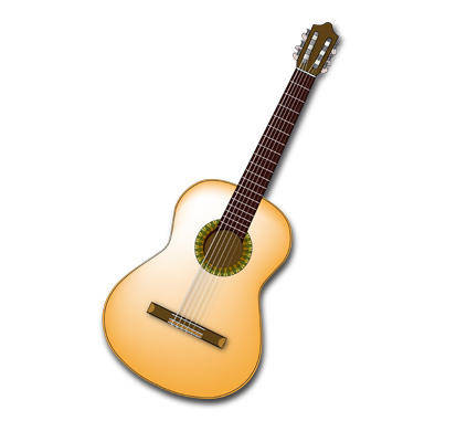free vector Spanish Guitar