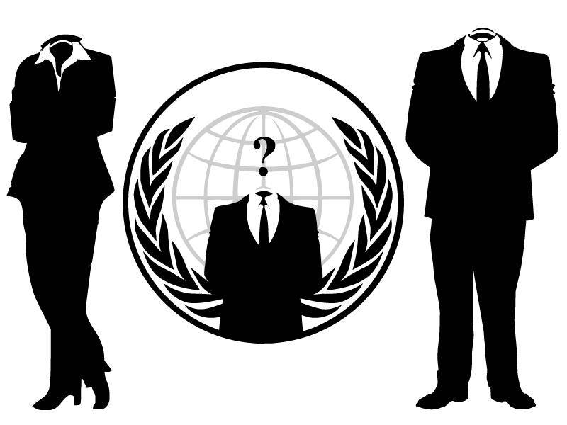 free vector Anonymous People Vectors