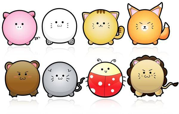 Cute Puffy Animals