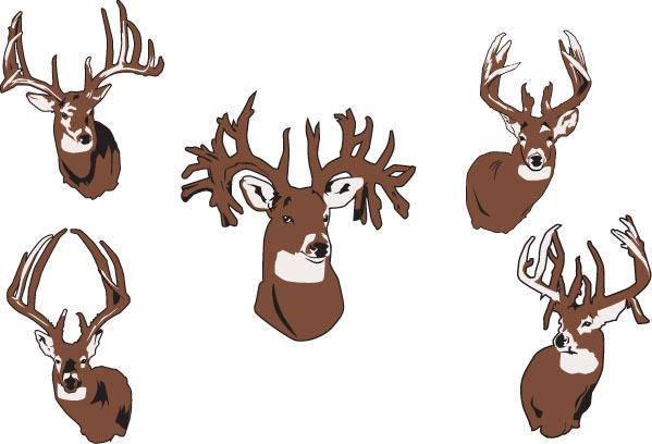 free vector Elk Vector