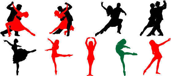 Dance Vector of Dancing People