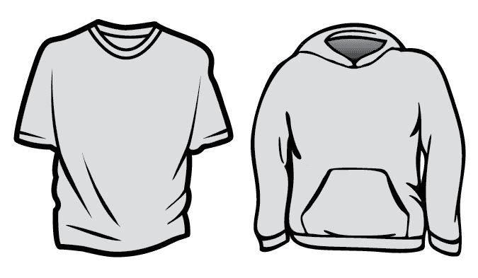 free vector Free Vector T-Shirt Templates