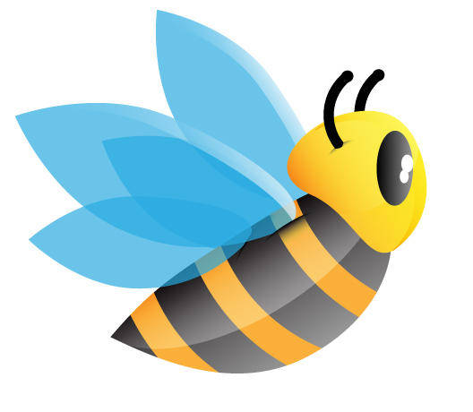 free vector Cute bee