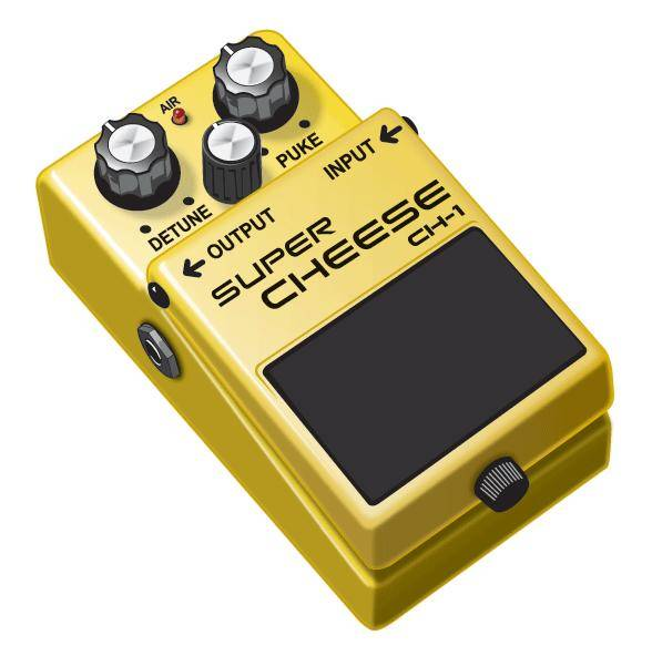 free vector The Cheese-y Guitar  Pedal