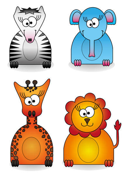 Zoo Animal Vector Pack