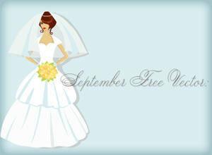 free vector Bridal Shower Card