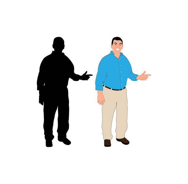 Pointing Man