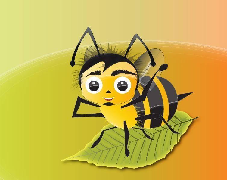 Abelha Bee Vector