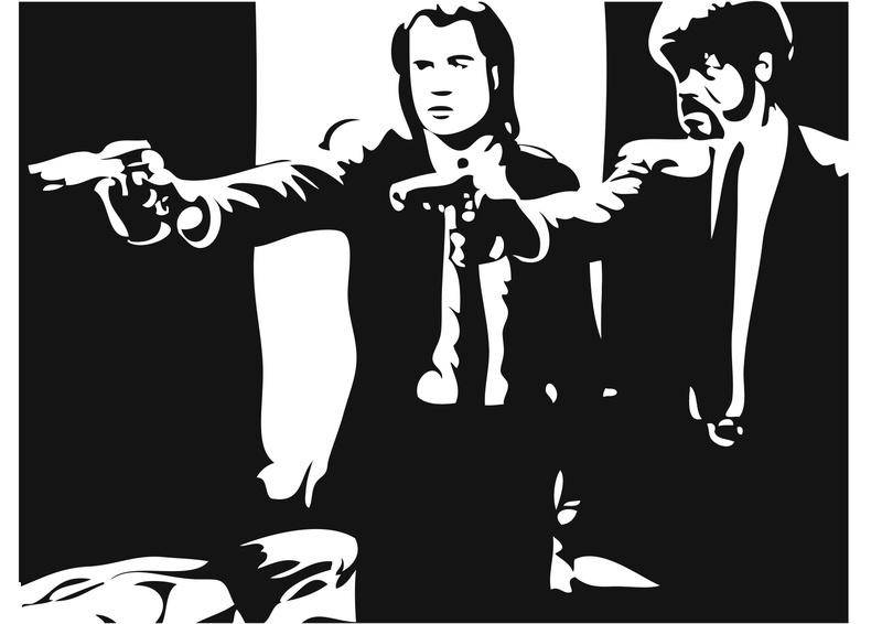 Pulp Fiction Vector