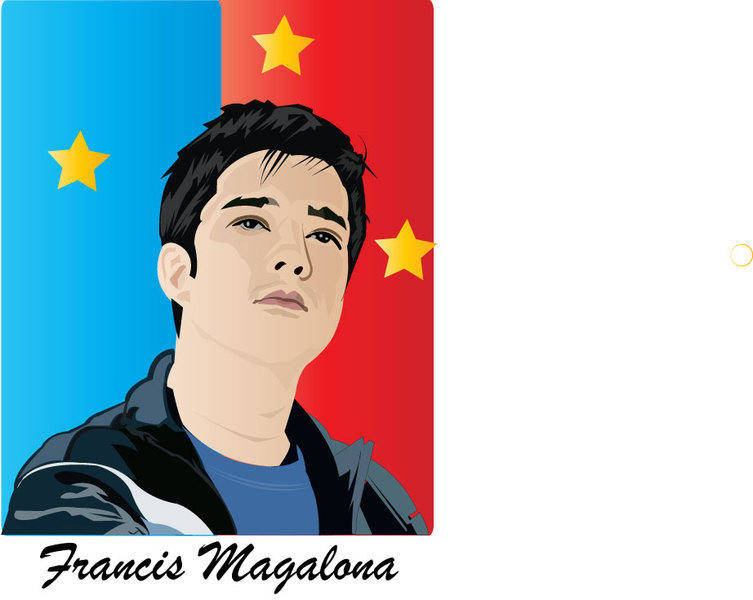 Francis Magalona Boy Vector