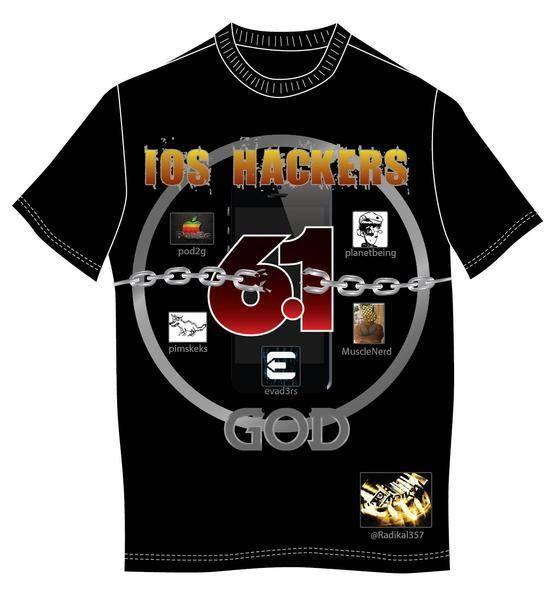 free vector IOS Hackers Tshirt Vector