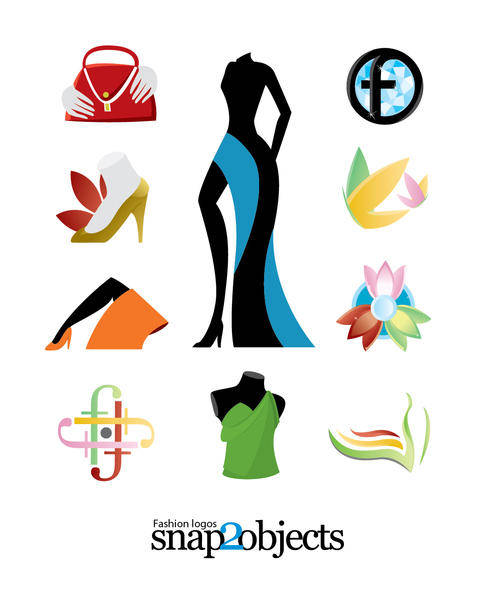 free vector Logo Vector Fashion Templates