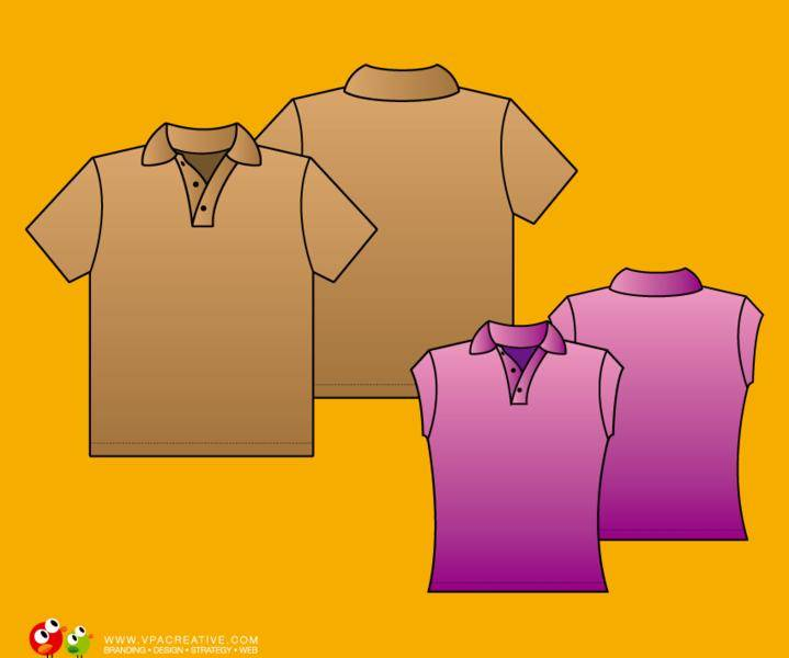 free vector Simple Polo shirt