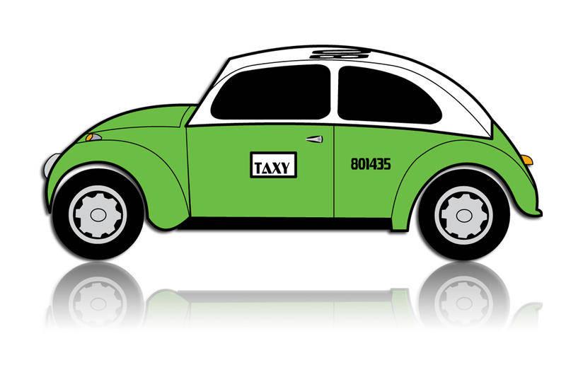 free vector Taxi (Mexico City Cab) Vector