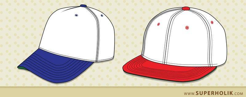 free vector Hat template