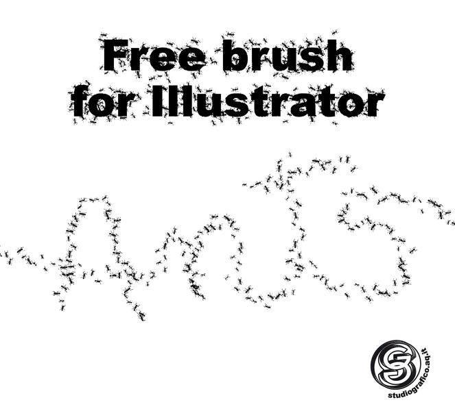 free vector Ant brush