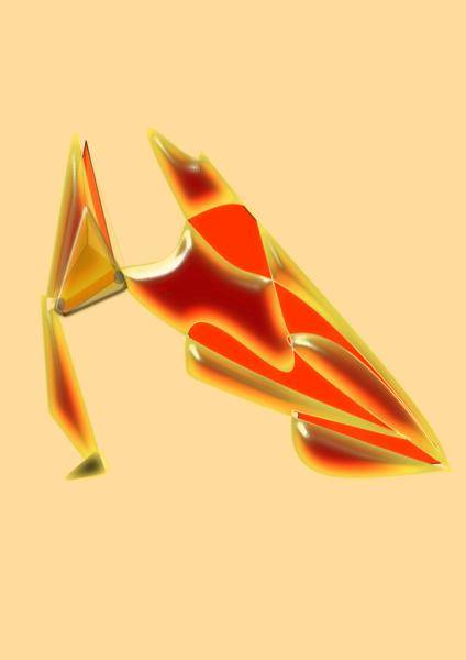 Abstract Vector Shoe