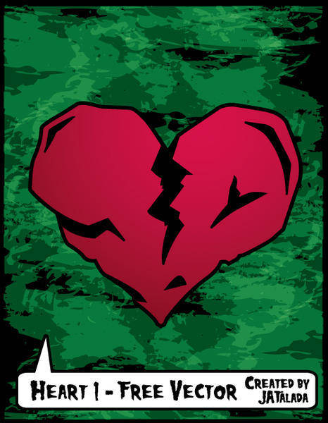 free vector Heart 1 - Free Heart Vector