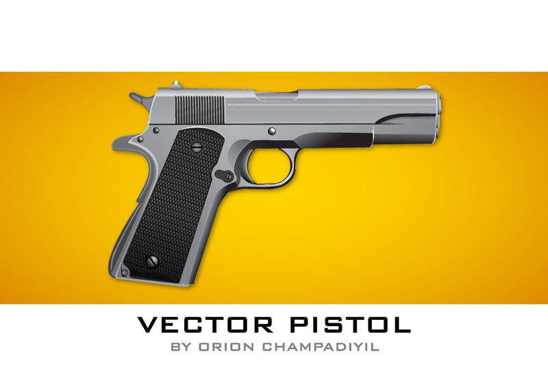 Vector Pistol Icon