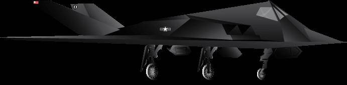 free vector F117 A Stealth