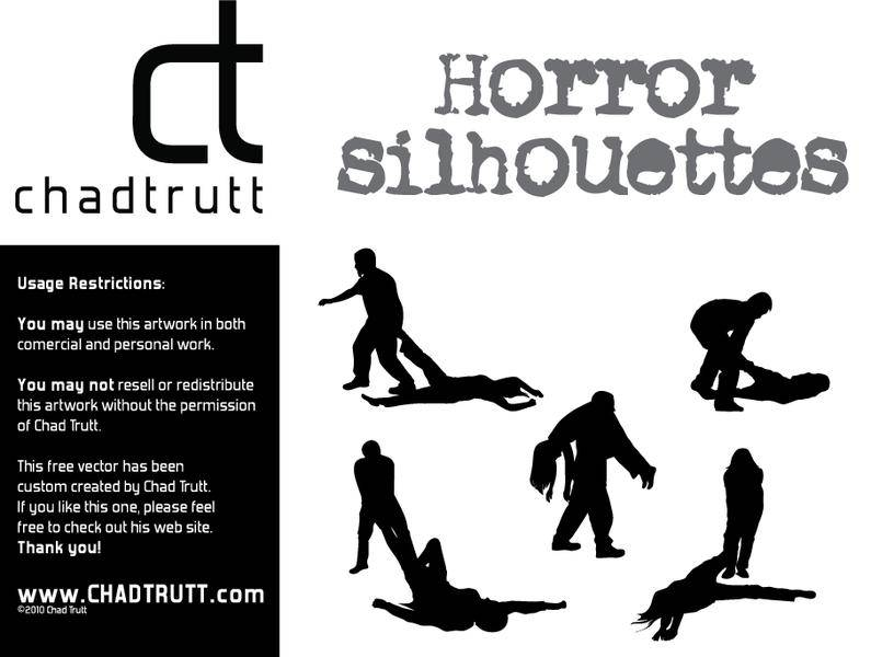 free vector Horror Silhouette -1