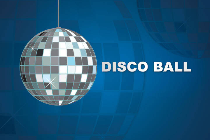free vector Party Vector Disco Ball