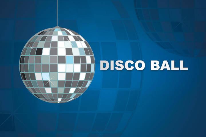 free vector Party Vector Disco Ball