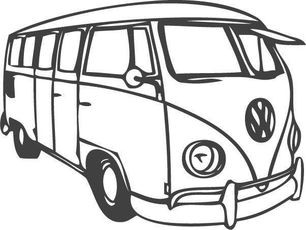 free vector VW Bus
