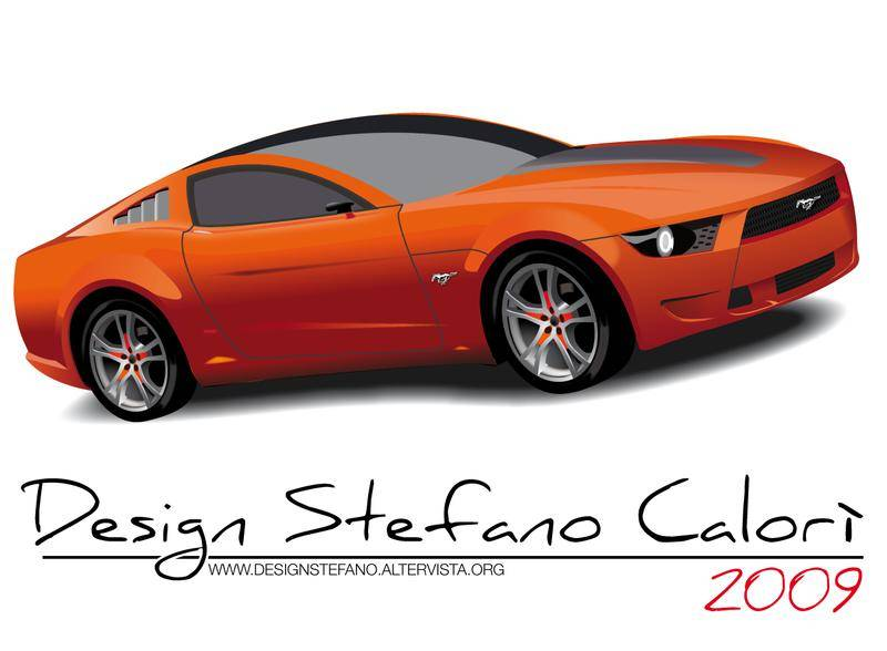 free vector Ford Mustang
