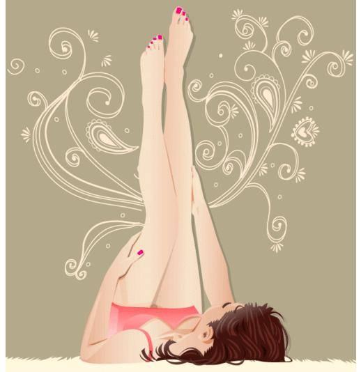 Girl Laying Down