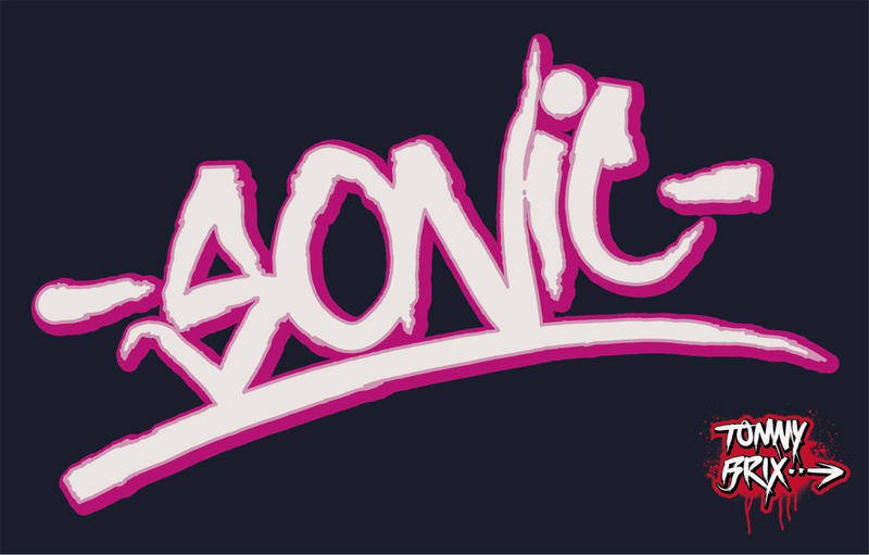 free vector -SONIC- - design Tommy Brix