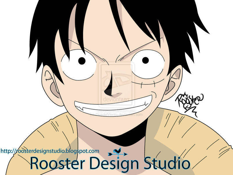 free vector Monkey D. Luffy Vector