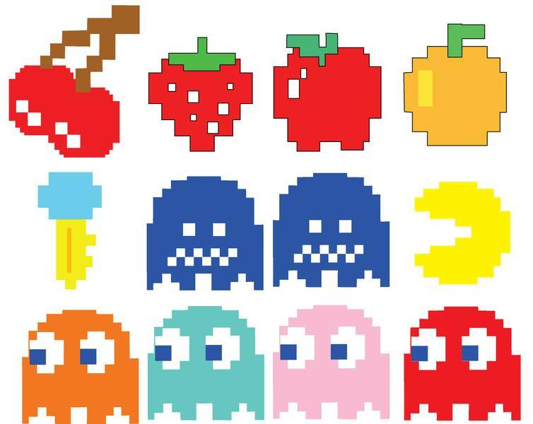 Pacman Vectors